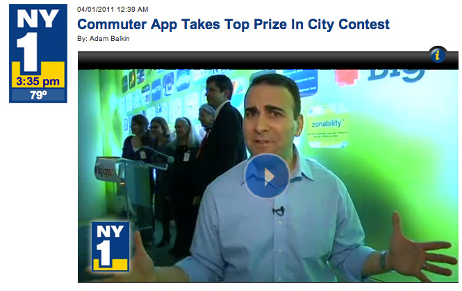 NY1 Big Apps Video Clip